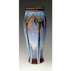 I have this piece.  Love it.  Bill Campbell Large Classic Carved Vase #pottery #gift $52.00