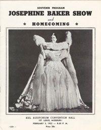 Souvenir Program from St. Louis performance