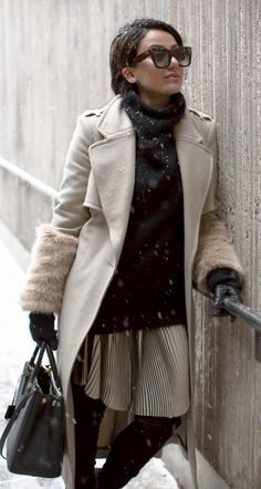 sara che | winter outfit ideas | camel coat