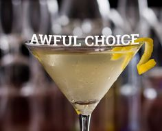 The 7 Worst Drinks, According to a Bartender