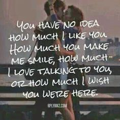 You Have No Idea love love quotes quotes quote in love love quote i love you relationship quotes instagram quotes