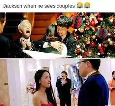 I'm Jackson......so hard...but i scream oj n frustration that i don't have a boyfriend. ....
