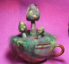 Hey, I found this really awesome Etsy listing at https://www.etsy.com/listing/180816605/needle-felted-mushroom-sculptures-with