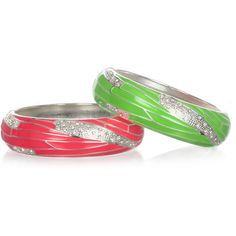 Sequin Thick Neon Enamel Bangles ($16) ❤ liked on Polyvore featuring jewelry, bracelets, accessories, sequin, clear jewelry, hinged bangle, enamel bangle, bracelets bangle and neon jewelry