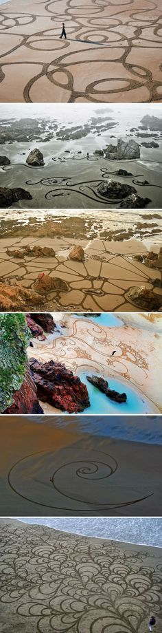 Andres Amador - Sand Art.