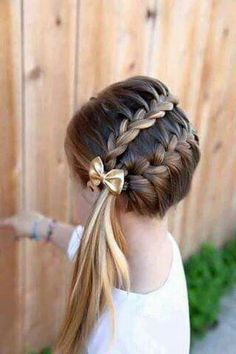 Nice and very neat hairdo  for any occasion.