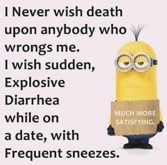 18 trendy ideas for funny relationship jokes humor minions quotes Funny Minion Memes, Minions Quotes, Hilarious Memes, Funny Facts, Funny Signs, Funny Humor, Memes Humor, Minions Pics, Funny Stuff