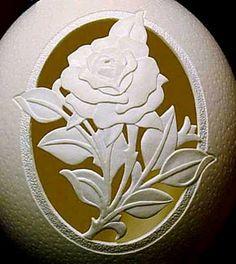 Creative Eggshell Art by Gary LeMaster ~ AMAZING-ARTS