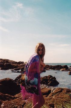 kimono, ocean beach, fashion, bohemian summer, inspiration boards, sea, summer nights, boho, beach life