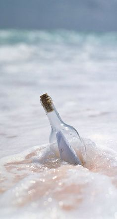 message in a bottle... // beach. waves. salt life.
