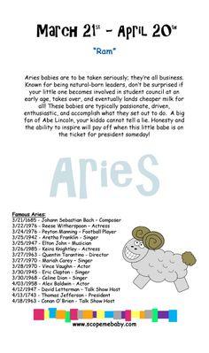 Aries - poor hubby - Aries mumma and Aries bubba on the way hehe