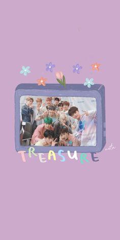Screen Wallpaper, Bts Wallpaper, Iphone Wallpaper, Galaxy Wallpaper, Nct, Fandom Kpop, Baby Pink Aesthetic, Treasure Planet, Treasure Boxes