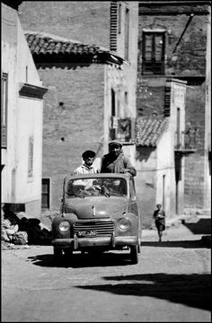 Photo by Ferdinando Scianna, Bagheria, Sicilia, Italy