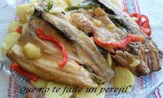 Truchas con Patatas