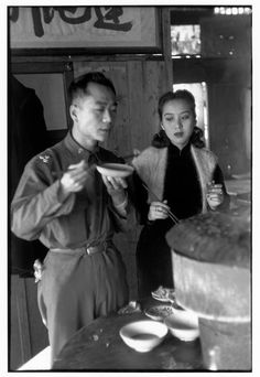 Henri Cartier-Bresson // China, 1948 - - Beijing.