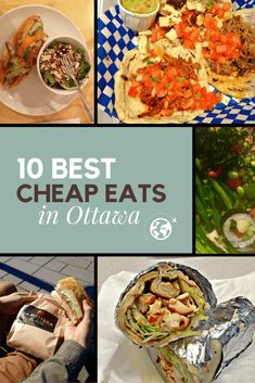 The ultimate guide to Ottawa's best cheap eats. Perfect for the budget conscious traveller visiting Canada's capital looking for some cheap food. Ottawa Restaurants, Ottawa Food, Ottawa Canada, Ottawa Ontario, Ontario Travel, Cheap Things To Do, Destination Voyage, Good And Cheap, Best Places To Eat