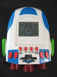 Toy Story Buzz LightYear 2 Handheld LCD Video Game RARE Disney Pixar Thinkway  #DisneyPixar #buzzlightyear #handheldgames