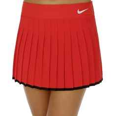 Nike Court Victory Rok Dames - Rood, Wit