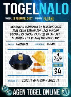 Tafsir Acak 2D Togel Wap Online Live Draw 4D TogelNalo Padang 13 Februari 2017