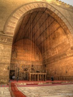 islamic-cultures: Sultan Hassan Mosque, Cairo, Egypt by Saira Bhatti