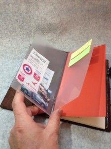DIY Memo Holder for Midori Traveler's Notebook (トラベラーズノート用メモホルダを自作!)