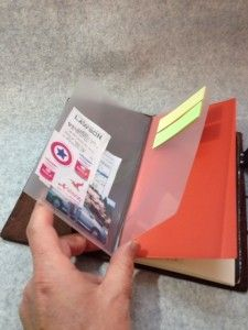 DIY Memo Holder for Midori - its in another language but the pictures are self explanatory.