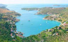 Private accommodation in Zaton Bay, Dubrovnik area, Croatia