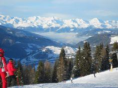 über den Wolken - wo die Seele dem Himmel so nah ist. Skifahren in den Dolomiten