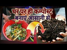 Composting At Home, Kitchen Waste, Quality Kitchens, Terracotta Pots, Quilt, Make It Yourself, Vegetables, Flower, Youtube