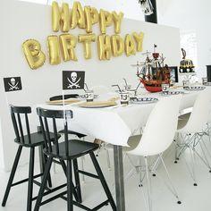 Pirate birthday on my blog today #birthdayparty#bursdagsfest#piratebirthday#piratbursdag#myhome