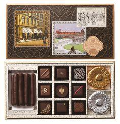 チョコレートが恋しくなる「冬」にピッタリ  ウィーンの老舗「デメル」がトリュフチョコを一新