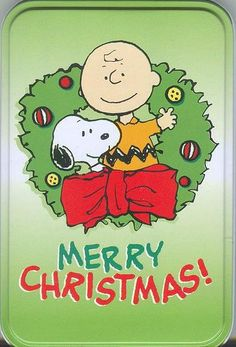 Merry Christmas from Snoopy and Charlie Brown by Rebecca Toney Wish You Merry Christmas, Christmas Quotes, Christmas Images, Winter Christmas, Vintage Christmas, Christmas Time, Christmas Scenes, Merry Xmas, Christmas Greetings