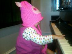 Playing the piano like uncle jordan.