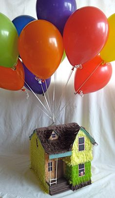 Piñata House from Up by DalePinatas on Etsy, $70.00