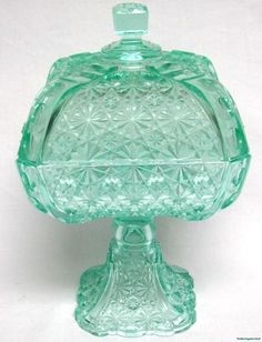 EAPG Antique Adams & Co.1880s Compote