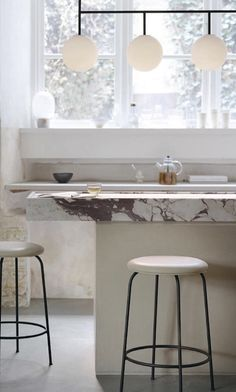 Kitchen Interior, Kitchen Design, Scavolini Kitchens, Minimalism Living, Plywood Design, Minimal Kitchen, Concrete Kitchen, Herringbone Tile, Kitchen Styling