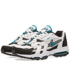 hot sale online 02256 ce485 Buy the Nike Air Max 96 II XX in White   Mystic Teal from leading mens  fashion retailer END. - only Fast shipping on all latest Nike products.