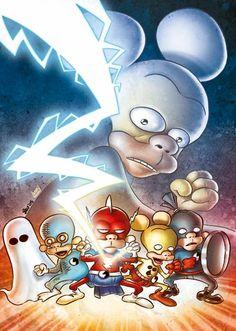 Leo Ortolani - Copertina Rat-Man Color Special 3 (Colori Larry) Rat Man, Rats, Larry, 3, Sonic The Hedgehog, Comics, Fictional Characters, Cartoons, Fantasy Characters