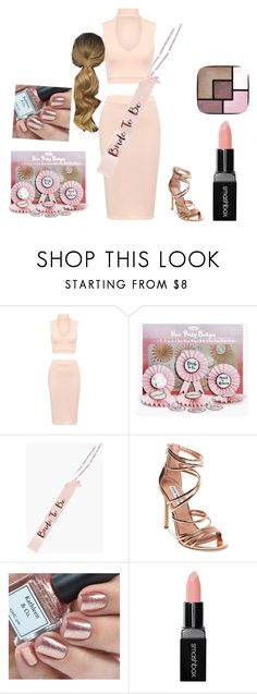 """""""Hen Party"""" by loughrangeorgia ❤ liked on Polyvore featuring WearAll, Boohoo, Steve Madden, Smashbox and Yves Saint Laurent"""