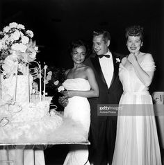 From Right To Left American Actress Lucille Ball