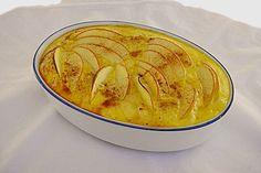 Quark-Apfel Reisauflauf