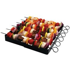 Amazon.com : Brinkmann 9021 Shish Kabob Set : Barbecue Skewers : Home & Kitchen