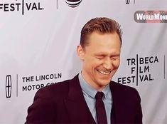 #TomHiddleston #Smile