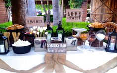 "Hollywood Candy Girls Crazy Candy World Blog! tagged ""wedding s'mores bar"" 