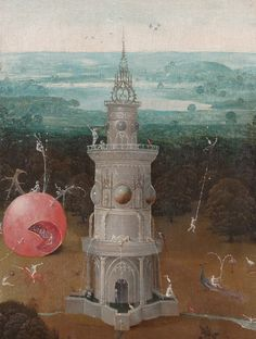 The Last Judgment (detail) by Hieronymus Bosch, c. 1486-1510.