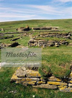 Pictish and Norse settlement, Brough of Birsay, Mainland, Orkney Islands, Scotland, United Kingdom, Europe