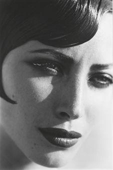 Christy Turlington by Peter Lindbergh 1991