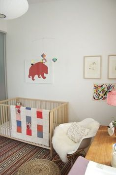 Gorgeous Neutral Nursery for a Girl or Boy  | Everything about this room is perfect!