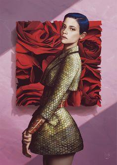 JOYCE Boutiques (Hong Kong) by Ignasi Monreal, via Behance