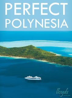 A perfect paradise! http://www.lloydstravel.com/spotlight-on-the-south-pacific/